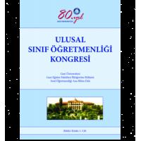 Ulusal Sınıf Öğretmenliği Kongresi Bildiri Kitabı 1