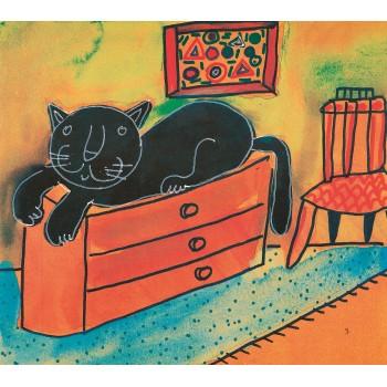 Kara Kedi Güzel Kedi